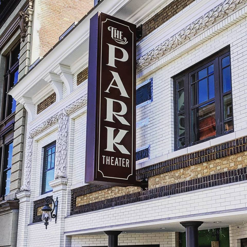 The Park Theater Exterior Sign